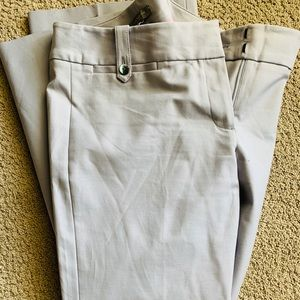 Ann Taylor Gray Dress Pants 6P